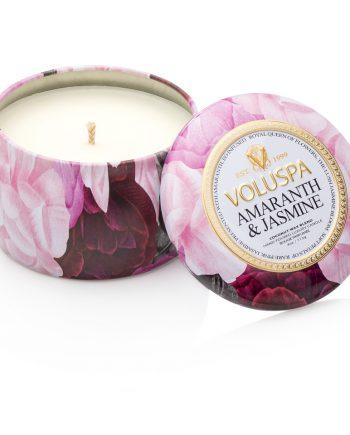 Voluspa Tin Candle Amaranth & Jasmine
