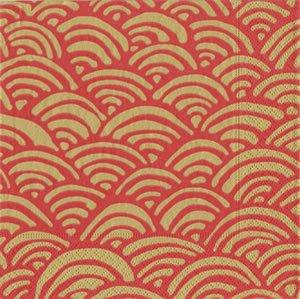 Caspari Servetter Lulus rainbow red