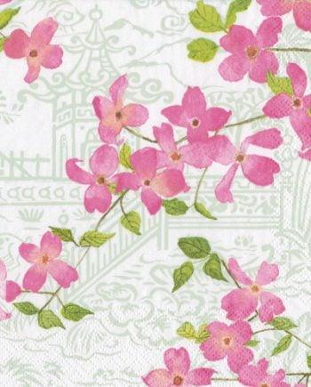 Caspari Servetter Blossom Branches