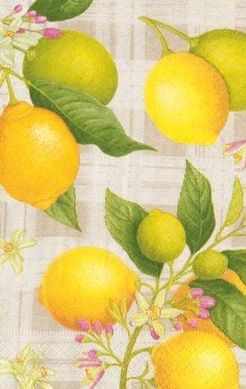 Caspari Servetter Citron