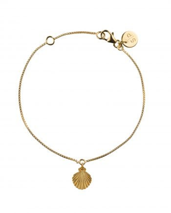 Beaches Shell bracelet gold