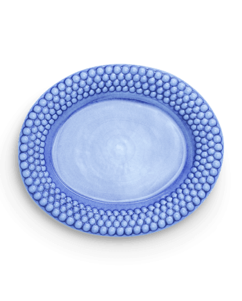 Mateus Fat Bubbles Ovalt Ljusblå 35 cm