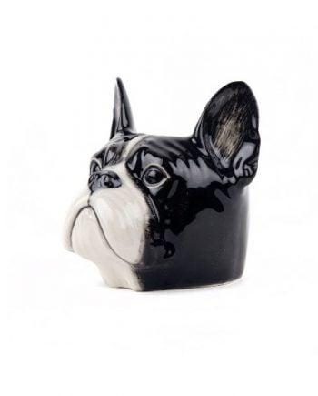 Quail Äggkopp Fransk Bulldog