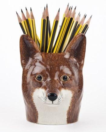 Quail kruka räv