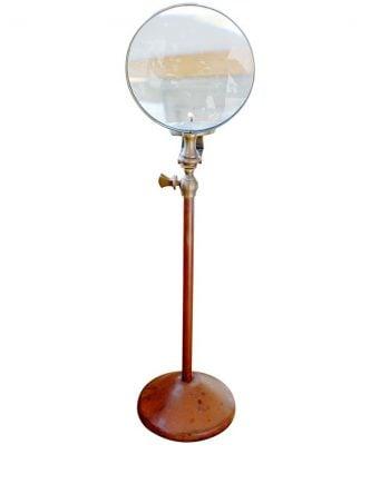 Ljushållare med förstoringsglas Liten