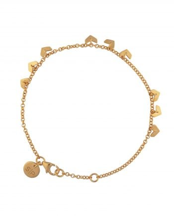 Syster P Armband Layers Bianca Guld