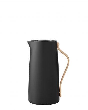 Stelton Emma Termoskanna Kaffe 1,2L Soft black