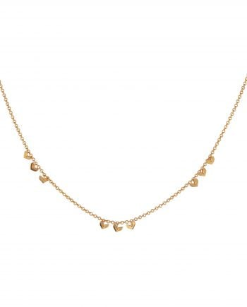 Syster P Halsband Layers Bianca Guld