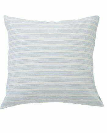 Lexington Blue Striped Cotton Linen Pillowcase