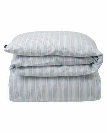 Lexington Blue Striped Cotton Linen Duvet