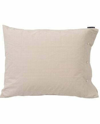 Lexington Beige Checked Tencel Pillowcase