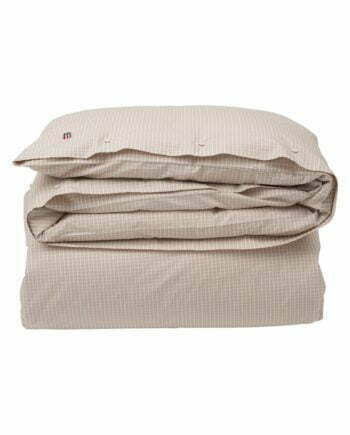 Lexington Beige Checked Tencel Duvet