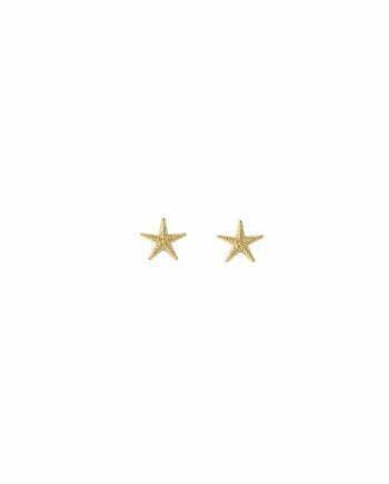 Syster P Örhängen Beaches Starfish Guld