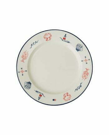 Blue Sea Serving Plate