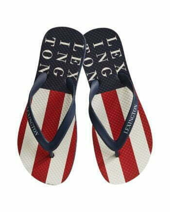 Orlando Flipflop Red White Stripe