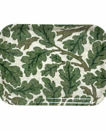 Morris frukostbricka oak grön