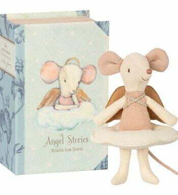 Maileg mus ängel i boklåda